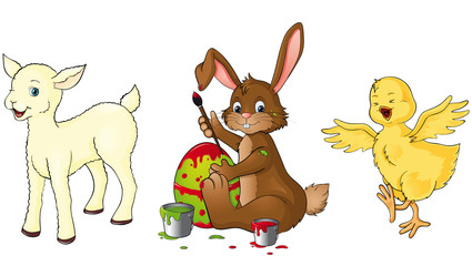 Frohe Ostern Set