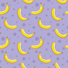 банановый бесшовный фон