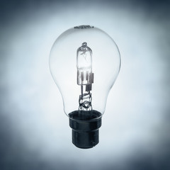 clear lightbulb