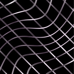 Wavy metal texture background
