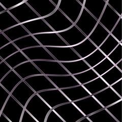 Wavy metal texture background