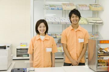 salesclerk of convenience store