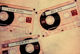 textured music tapes