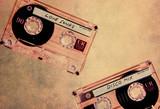 music cassettes texture