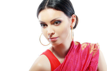 Indian beautiful fashion model
