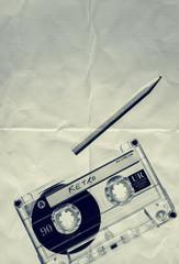 paper texture retro tape