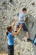 Gewandtheit an der Boulderwand