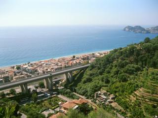 Landscape. Letojanni. Sicily