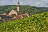 France, small village of Riquewihr in Alsace