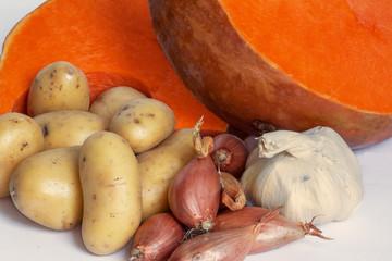 Légumes pour soupe au potiron - Cucurbita maxima