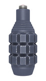 Pineapple Fragmentation Grenade on White