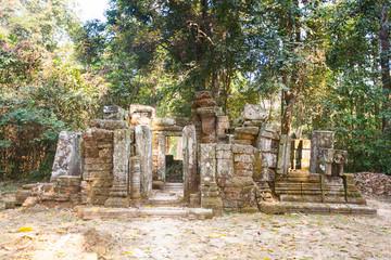 Wat Ek Phnom  temple near the Battambang city, Cambodia