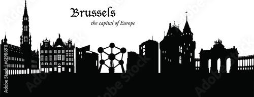 Fototapeta Brussels_Cityscape