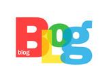 """Mosaïque de Lettres """"BLOG"""" (web internet médias réseaux sociaux)"""