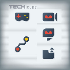 Computer and Mobile Technology Icons