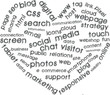 Internet marketing with heart symbol