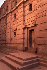 Church Emmanuel at Lalibela in Ethiopia