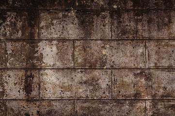 Hintergrund verschimmeltes Mauerwerk
