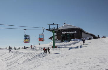 Skiing In The Nocky Mountains Of Bad Kleinkirchheim & St. Oswald