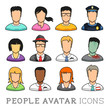 People Avatar Icons