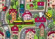City seamless pattern - 61994940