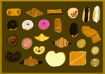 Dulces variados