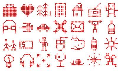 Пиксельные веб-иконки