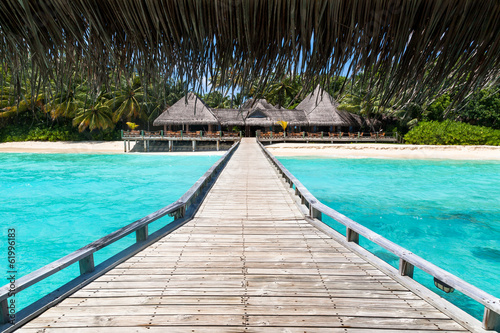 Restaurante en Maldivas
