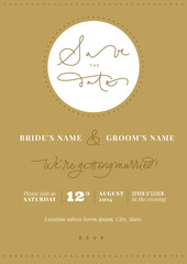 Wedding Invitation - Save the date