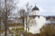 Church of St George (12th c.) in Staraya Ladoga, Russia
