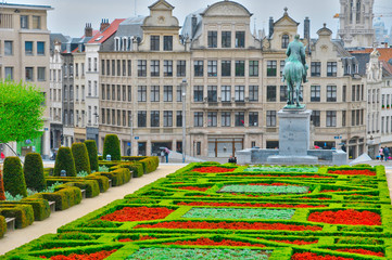 Belgium, picturesque city of Brussels