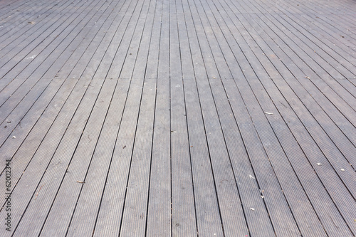 Aged gray wooden terrace floor background