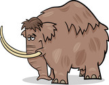 mammoth cartoon illustration