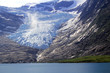 The lowest glacier in europe
