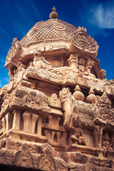 Great architecture of Hindu Temple. India
