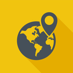 Travel Flat Icon. Vector Pictogram. EPS 10.