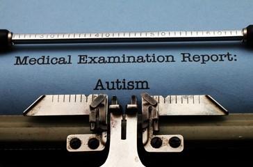 Autism medical report