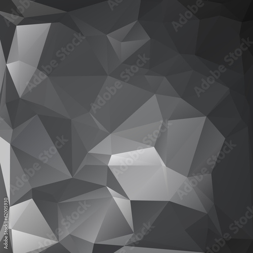Abstract polygon triangle background