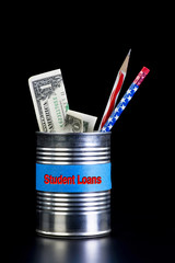Student Loans tin Can.