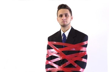 Red Tape Standing