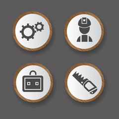 Tools icons,building icons,vector