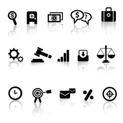 Business and marketing icon set,vector