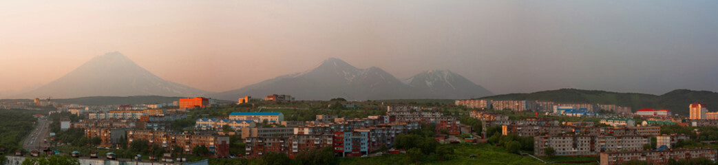 Petropavlovsk-Kamchatsky, panorama