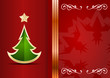 Celebration background with tree and place for your text.