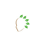 Natural beauty logo- Holistic healing