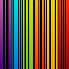 Colorful background with strips
