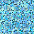 3d bubble balls pattern mosaic backdrop in blue gray