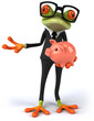 Business frog