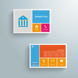 Businesscard Infographic Paper Design