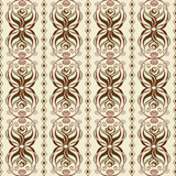 Seamless abstract pattern of wavy ornament